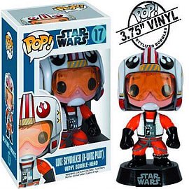 Star Wars X-Wing Pilot Luke Pop! Vinyl Bobble Head Figurines and Sets