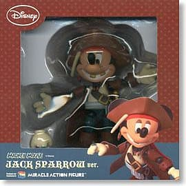 Mickey Mouse Jack Sparrow Action Figure Figurines and Sets