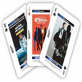 James Bond The Bond Movie Poster Playing Card Set Traditional Games