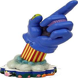The Beatles Yellow Submarine Glove Premium Motion Statue Scaled Models