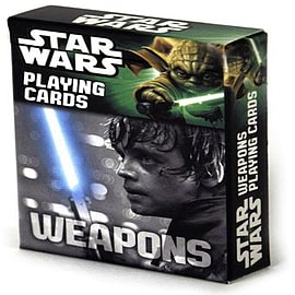 Star Wars Weapons Playing Cards Traditional Games