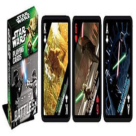 Star Wars Battles Playing Cards Traditional Games