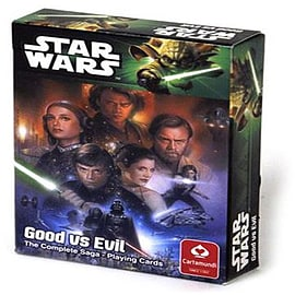 Star Wars Good Vs Evil Playing Cards Traditional Games