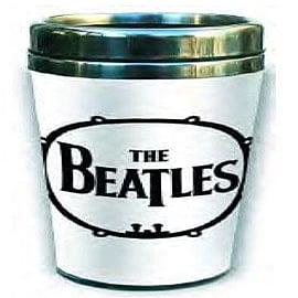 The Beatles Drum Logo Ceramic Travel Mug Home - Tableware