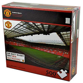 Manchester United Football Club Old Trafford Jigsaw Puzzle Traditional Games