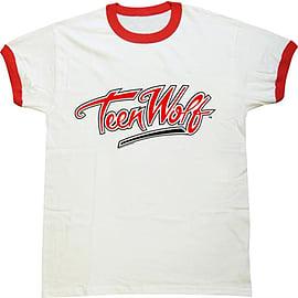 Teen Wolf Logo [Ringer] Double Extra Large Clothing