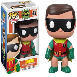 Batman Classic TV Series Robin Pop Heroes Vinyl Figure Figurines and Sets