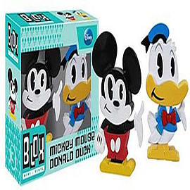 Mickey Mouse Mickey And Dold Blox Mini Vinyl Figures Figurines and Sets