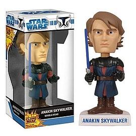 Star Wars Clone Wars Akin Skywalker Bobble Head Figurines and Sets