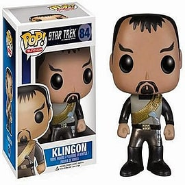 Star Trek Klingon Pop Television Vinyl Figure Figurines and Sets