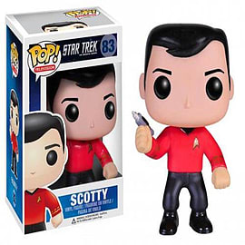 Star Trek Scotty Pop Television Vinyl Figure Figurines and Sets