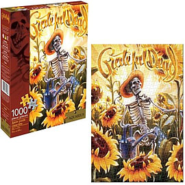 Grateful Dead Grower Jigsaw Puzzle Traditional Games