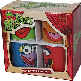 The Muppets Character Egg Cup Set Home - Tableware