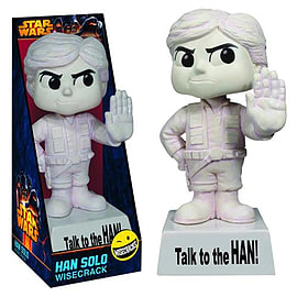 Star Wars Han Solo Wisecrack Bobble Head Figurines and Sets