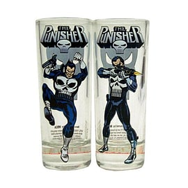 The Punisher Character Shooter Glass Set Home - Tableware