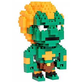 Street Fighter Pixel Bricks Blanka Figurines and Sets
