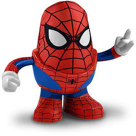 Spiderman Mr Potato Head Figurines and Sets