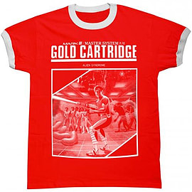 Sega Gold Cartridge Large Clothing