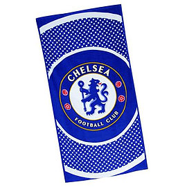 Chelsea Football Club Bullseye Logo Beach Towel Memorabilia