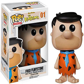 The Flintstones Fred Flintstone Pop! Vinyl Animation Figure Figurines and Sets