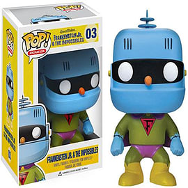 Han Barbera Frankensten Jr & The Impossibles Pop! Vinyl Figure Figurines and Sets