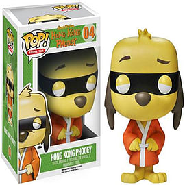 Hong Kong Phooey Pop! Vinyl Animation Figure Figurines and Sets
