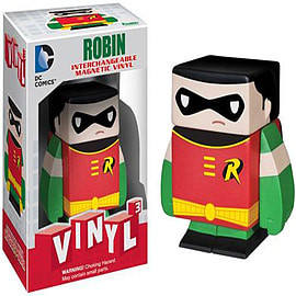 Batman Robin Vinyl Cubed Figurines and Sets