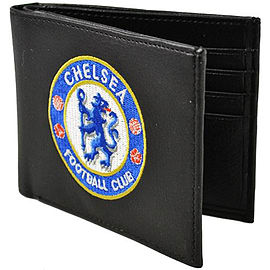 Chelsea Football Club Club Crest Leather Wallet Gifts