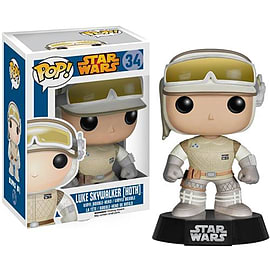 Star Wars Hoth Luke Pop! Vinyl Bobble Head Figurines and Sets