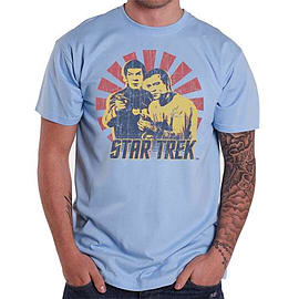 Star Trek Kirk And Spock Double Extra Large Clothing