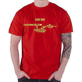 Star Trek Ships Of The Line [Red] Double Extra Large Clothing