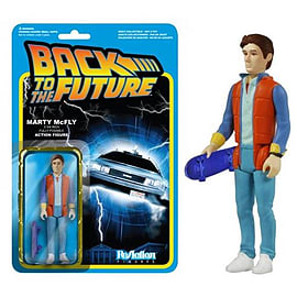 Back To The Future Marty McFly ReAction Figure Figurines and Sets