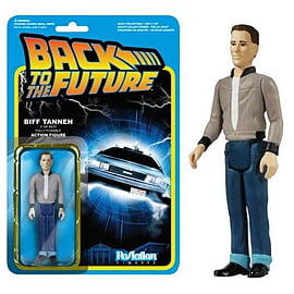 Back To The Future Biff Tannen ReAction Figure Figurines and Sets
