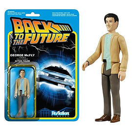 Back To The Future George McFly ReAction Figure Figurines and Sets