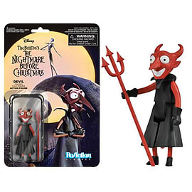 The Nightmare Before Christmas Devil ReAction Figure Figurines and Sets