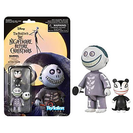 The Nightmare Before Christmas Barrel ReAction Figure Figurines and Sets