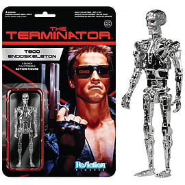 Terminator T800 Endoskeleton ReAction Figure Figurines and Sets
