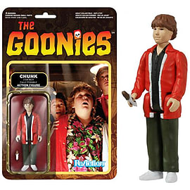 The Goonies Chunk ReAction Figure Figurines and Sets