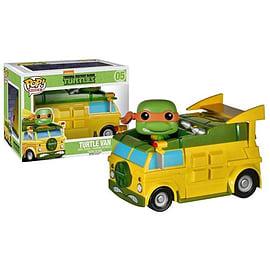 Teenage Mutant Ninja Turtles Turtle Van Pop Rides Vinyl Figure Figurines and Sets