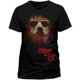 Friday The 13th Mask Glow Double Extra Large Clothing