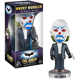 Batman Joker Bank Robber Dark Knight Wacky Wobbler Figurines and Sets