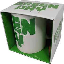 Green Day Spray Logo Mug Home - Tableware