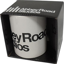 Abbey Road White Logo Mug Home - Tableware