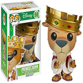 Robin Hood Prince John Pop Vinyl Figure Figurines and Sets
