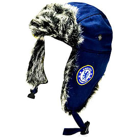 Chelsea Football Club Club Crest Trapper Hat Clothing