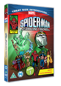 Marvel Classics Spider Man And His Amazing Friends Episodes 5 and 6 DVD