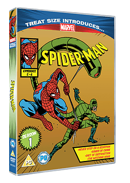 Marvel Classics Spider Man Episodes 5 and 6 DVD
