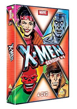 X-Men - Season 4-5 DVD
