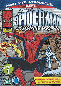 Marvel Classics Spider Man And His Amazing Friends Episodes 1 and 2 DVD