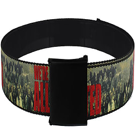 The Walking Dead We Are All Infected Web Belt: One Size Clothing